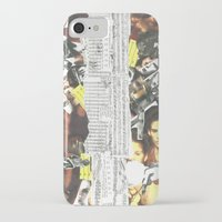 persona iPhone & iPod Cases featuring Persona Solara by Antimatéria