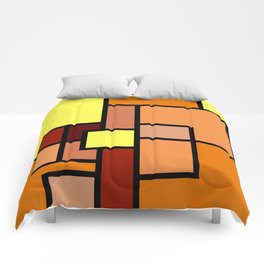 The Colors of / Mondrian Series - Lion King  Comforters