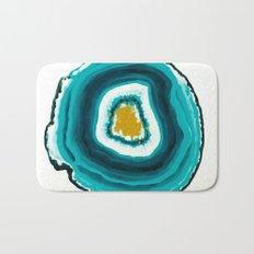 Agate Turquoise  Bath Mat