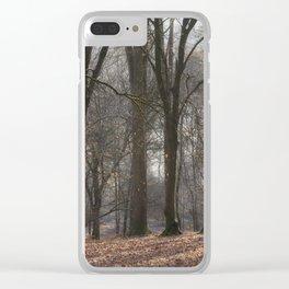 Misty Below Clear iPhone Case