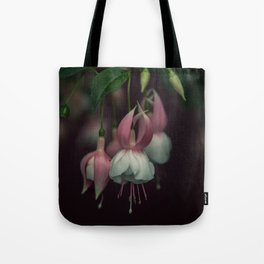 fuschia flower Tote Bag
