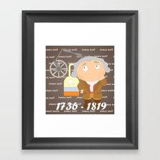 James Watt Framed Art Print