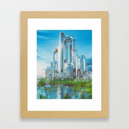 ISOTOPE (everyday 08.21.16) Framed Art Print