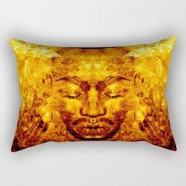 Brother Meditation X - gamma charge Rectangular Pillow