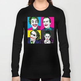 Pop Quad: The Joker Long Sleeve T-shirt