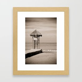 Two If By Sea Framed Art Print