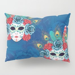 Carnival face mask Pillow Sham