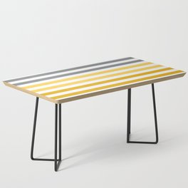 Stripes Gradient - Yellow Coffee Table