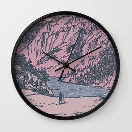 Adventure Is Calling Wall Clock