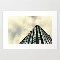 Beneath the St. Louis skyline. Art Print