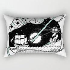 Goodbyes Rectangular Pillow
