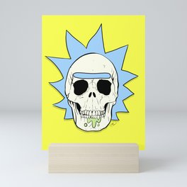 Skull of Rick Mini Art Print