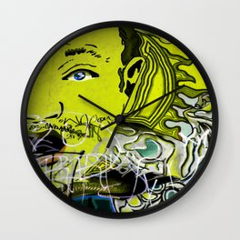 Feeling Yellow Wall Clock