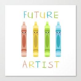 Future Artist Canvas Print
