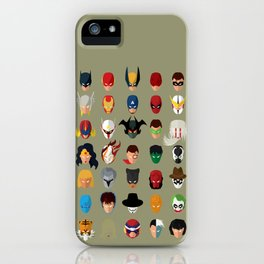 SuperHeroes iPhone Case