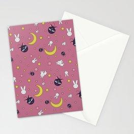 Luna Moon Rabbit Full Stationery Cards
