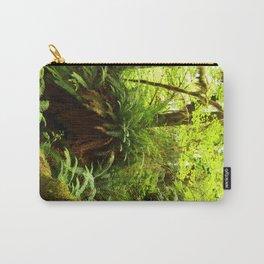 Rainforest Ferns Carry-All Pouch