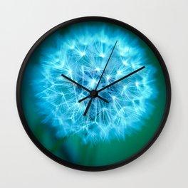 Glow. Wall Clock
