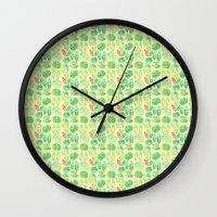 minimalist Wall Clocks featuring minimalist spring by serenita