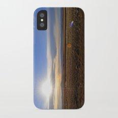 Wyoming Sunset 2 iPhone X Slim Case