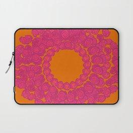Pink Rose Wreath Laptop Sleeve