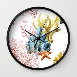 Sea Life Pattern 11 Wall Clock