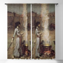 The Magic Circle, John William Waterhouse Blackout Curtain