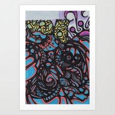 Circus Seas Art Print