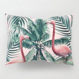 Flamingo tropics Pillow Sham