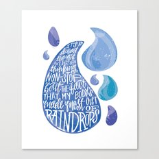 Saltwater Heart. [Switchfoot] Canvas Print