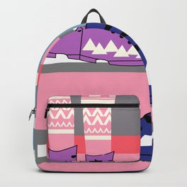 Colorful walk Backpack