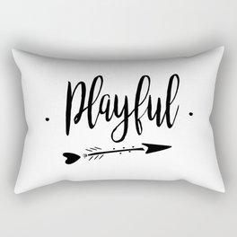 Playful Lettering-PM coll Rectangular Pillow