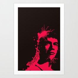 Bloodsport Minimal Film Poster Art Print