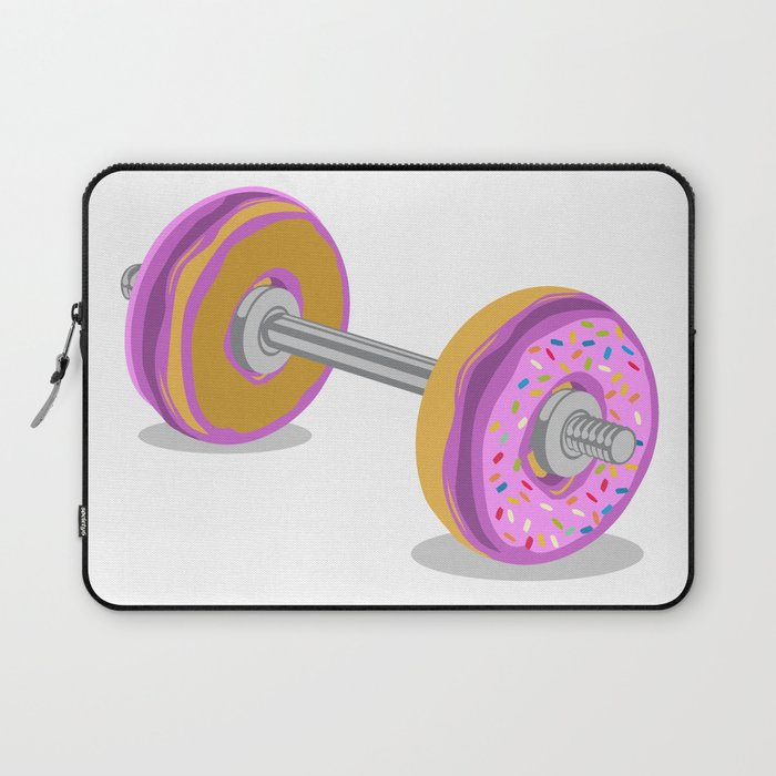 Donut Weight Artwork Laptop Sleeve