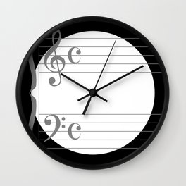 Music Circle Wall Clock