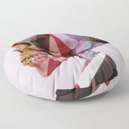 Red Tie Floor Pillow