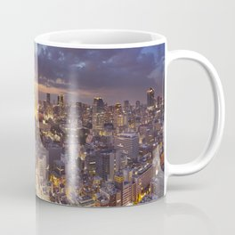 II - Tokyo, Japan skyline with the Tokyo Tower at night Coffee Mug