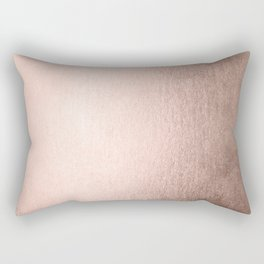 Moon Dust Rose Gold Rectangular Pillow