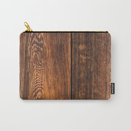 Old wood texture Carry-All Pouch