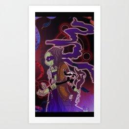 Necromancer Donnie Art Print