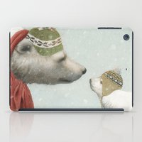 jon snow iPad Cases featuring First Winter by Eric Fan
