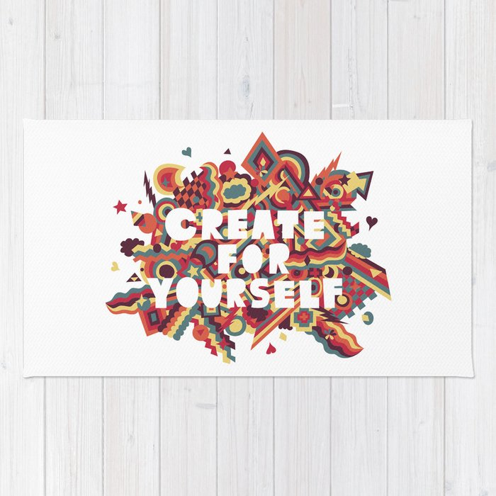 Create For Yourself (1) Rug