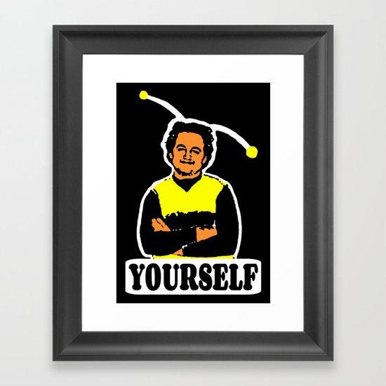 BEE YOURSELF  |  JOHN BELUSHI Framed Art Print