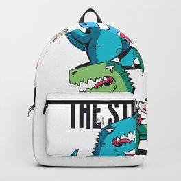 T-Rex Struggle Backpack