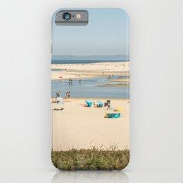 Beach Lagoa de Albufeira Portugal iPhone Case