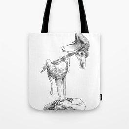 Crazy Bird Tote Bag