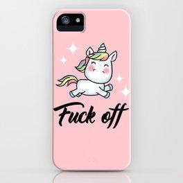 F*ck Off iPhone Case