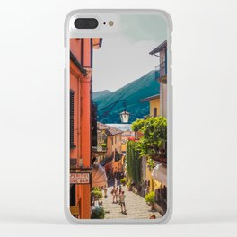 Pearl of the lake Clear iPhone Case
