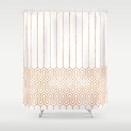 Art Deco No. 1 Freda Shower Curtain