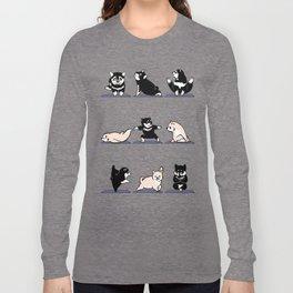 Shiba Yoga Long Sleeve T-shirt